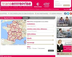 Le réseau de la transmission/reprise d'entreprises des Chambres de Commerce et d'Industrie et des Chambres de Métiers et de l'Artisanat.